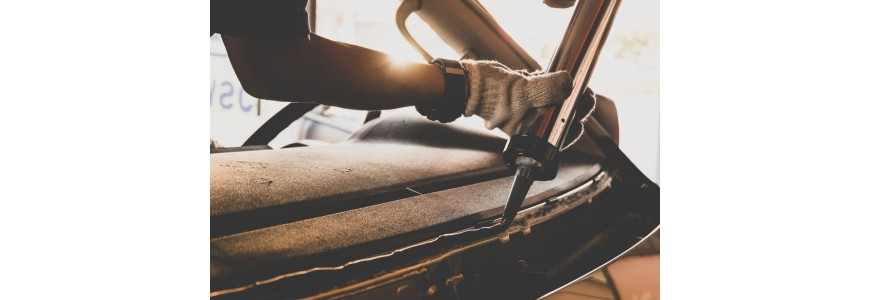 Glass installation, car body sealing